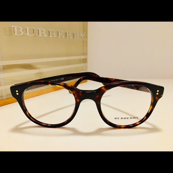 1121a1fb78ad Burberry Accessories - Burberry Eyeglasses B2194 Dark Havana Round 48mm
